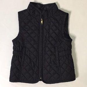 🍁3/$30 SALE Old Navy Quilted Black Vest 3T